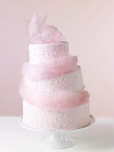 Торт с сахарной ватой