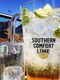 Cocktail: The Southern Comfort Lime pitcher #cocktail #recipe #summer