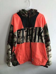 9d78082bac40f Ethik Game Assassin Orange & Camo Windbreaker Jacket #fashion #clothing  #shoes #accessories