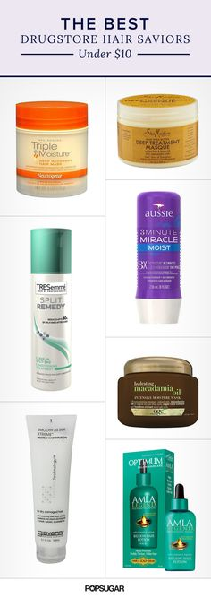 Affordable hair treatments can be hard to find. That's why we've rounded up 10 of them under $10! These deep conditioners, serums, and oils all make the list. And you can find them all in your drugstore.