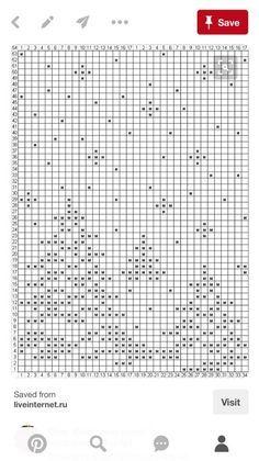 Image result for filet crochet runner chart
