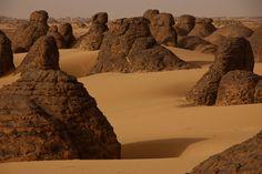 El desierto de Argelia