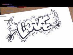como desenhar love passo a passo Quer ver grafite: desenhos animados fáceis de fazer? Prepare-se para imagens lindas, com muitos desenhos…