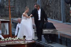 Pierre Casiraghi and Beatrice Borromeo are seen on August 1, 2015 in ANGERA, Italy.