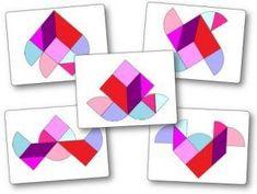 Jeu tangram à imprimer pour maternelle ms (moyenne section), gs (grande section). Ces modèles du jeu Tangram peuvent être utilisés en cp, ce1 et au cycle 3. Tangram Puzzles, Cycle 3, Grande Section, Origami, Logos, Reproduction, Recherche Google, Ideas Para, Hearts