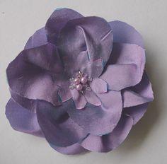 flower pin, cute in hair or on dress