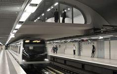 Nowdays - Subway station (Algiers, Algeria)