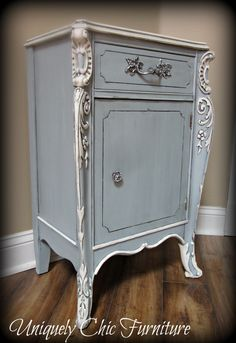 French Provincial Nightstand by suezcues on Etsy, $160.00