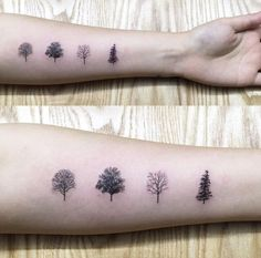 Tree Species Tattoo by Hongdam