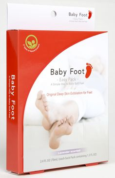 Baby Foot {great foot care system}