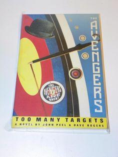 THE AVENGERS TOO MANY TARGETS PAPERBACK---BRITISH TV SHOW JOHN STEED EMMA PEEL  | eBay