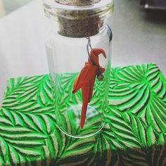 Попугайка   Parrot 🐦 #bird #parrot #origamilovers #origami #origamiart #miniatures