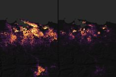 Pinpointing Where the Lights Went Out in Puerto Rico : Image of the Day : NASA Earth Observatory