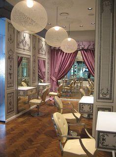 Marie Antoinette inspired hair salon | Improving Earth, One Robot ...