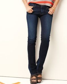 Red Engine Ruby Microflare Jeans