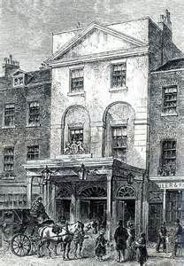 Astley's, Westminster Bridge Road. London's first circus
