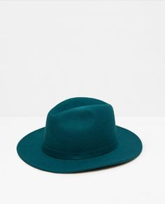 ZARA - WOMAN - BRIMMED HAT WITH RIBBON DETAIL
