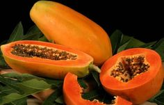 Papaya's nutrition facts are beneficial against acne, pimples and other skin infections. It opens your pores of the skin. Papayas are mostly used in face packs.