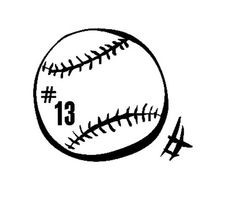 Baseball Vinyl Decal  Personalize With Your by LivingCreatively, $6.00
