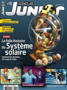 La folle histoire du système solaire -  Science et Vie Junior - Numéro 324