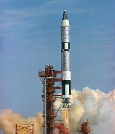"23 March 1967: At 14:24:00 UTC, Gemini III was launched aboard a Titan II GLV  rocket from Launch Complex 19 at the Cape Kennedy Air Force Station, Cape Canaveral, Florida. Major Virgil I. (""Gus"") Grissom, United States Air Force, a Project Mercury veteran, was the Spacecraft Commander, and Lieutenant Commander John W. Young, United States Navy, was the pilot."
