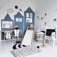 Sliding into the weekend Stickstay wall stickers & Lucky Boy Sunday dolls available online now. Store link in our bio. Hope you're having a fab Friday ✌ Amazing image @ourlittlehouseonsix