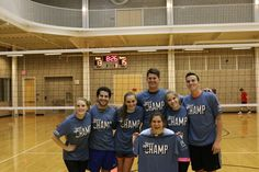 Co Rec Indoor Volleyball Champs