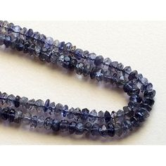 2 Strands WHOLESALE  Blue Kyanite Bead Kyanite by gemsforjewels