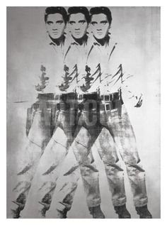 Triple Elvis®, 1963 Giclee Print by Andy Warhol at Art.com