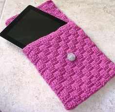 Ipad cover crochet more crochet ipad case, crochet tablet cover, basket w. Crochet Ipad Case, Crochet Phone Cover, Unique Crochet, Love Crochet, Crochet 101, Beautiful Crochet, Basket Weave Crochet, Crochet Mobile, Accessoires Iphone