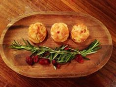These Bacon-Lingonberry Gougeres are the perfect warm and comforting holiday snack a fire-lit party on a snowy night. Try pairing with Swedish hot spiced wine, Glogg . Light Appetizers, Recipes Appetizers And Snacks, Chef Recipes, Appetizers For Party, Gougeres Recipe, Yummy Eats, Yummy Food, Tapas, Spiced Wine