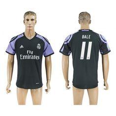Real Madrid 16-17 Gareth Bale 11 TRødjedraktsett Kortermet.  http://www.fotballteam.com/real-madrid-16-17-gareth-bale-11-trodjedraktsett-kortermet.  #fotballdrakter