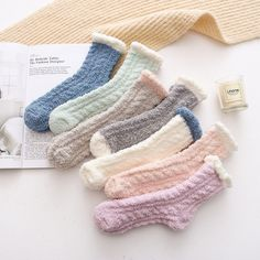 LADIES QUALITY SOFT MERINO CASHMERE WOOL SILK GORGEOUS ANKLE BOOT GIFT SOCKS