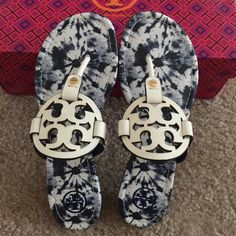 NIB TORY BURCH MILLER size 7M They are new authentic in the box Tory Burch Shoes