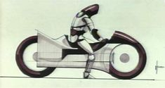 syd mead tron | Syd Mead's 'Tron' Concept Art Helped Shape The Future