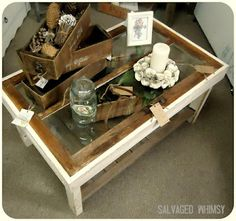 Barn Window Table