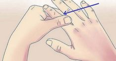 thumb: to avoid shortness of breath; ring finger: for constipation; middle finger: for motion sickness or insomnia; little finger: to easy migraines Health And Beauty Tips, Health And Wellness, Health Care, Natural Cures, Natural Healing, Health Remedies, Home Remedies, Herbal Remedies, Massage Therapy