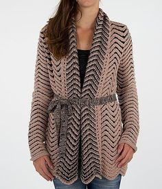 BKE Boutique Wool Blend Cardigan Sweater-Buckle