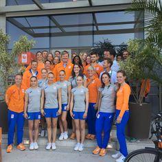 Koning en premier Rutte bezoeken Nederlandse olympiërs