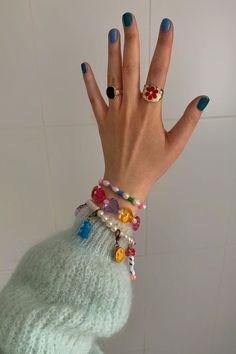 Cute Jewelry, Beaded Jewelry, Jewelry Accessories, Beaded Bracelets, Bold Jewelry, Hippie Jewelry, Jewelry Trends, Handmade Bracelets, Bridal Accessories