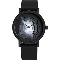 Projects Watches Terra-Time Watch | Black/Silicone