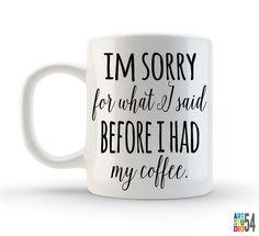 Unique Coffee Mug Tea Mug Coffee Cup Ceramic 11oz by artstudio54