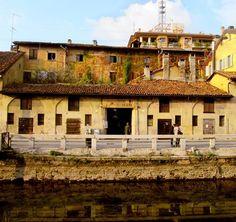 Ed eccoci sul Naviglio con Ferry V. #milanodavedere Milano da Vedere