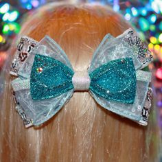 Frozen Elsa Bow