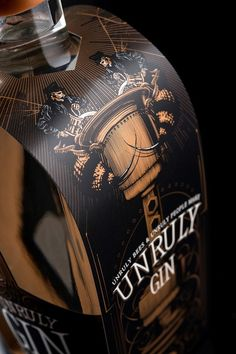 Unruly Vodka and Unruly Gin on Packaging of the World - Creative Package Design…