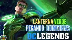 DC Legends: Coletando Biometrias Lanterna Verde (Android)
