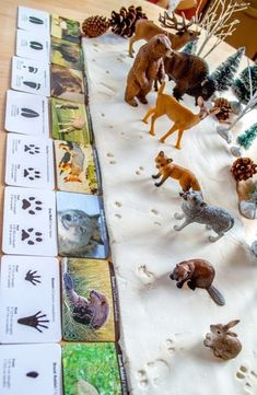 Identifying Animal Tracks, Snow Dough, unit study, homeschool, homeschooling, Montessori From The Heart, cold, snowflake, snowflake craft, Schleich, animal tracks, animal tracks in snow, deer tracks in snow, Snowman, Snowman DIY winter craft, craft, crafts, DIY, DIY snow, do it yourself, fine motor, Holiday Activity, Holiday craft, Holiday for kids, Homemade, homeschool, homeschooling, kids create, kids create, kids play, learn and play, modeling dough, Montessori, No-Cook, No-Cook Homemade…