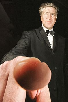 David Lynch and his accusatory finger David Lynch, Mulholland Drive, Twin Peaks, Gif Animé, Animated Gif, Gifs, Moving Pictures, Cool Pictures, David Keith