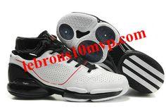 Adidas Adizero Rose 1.0 White/Black Shoes