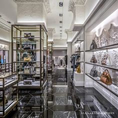 Alexander McQueen open flagship store in New York at 747, Madison Avenue